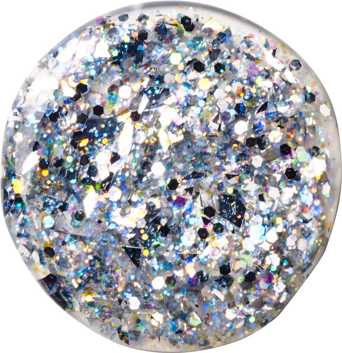 FolkArt ® Glitterific™ Acrylic Paint - Silver, 2 oz.