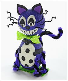 Halloween Texture Scare D. Cat