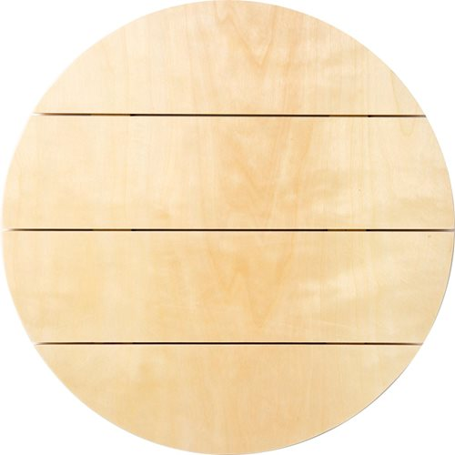 "Plaid ® Wood Surfaces - Pallet Circle, 12"" x 12"" - 44990"