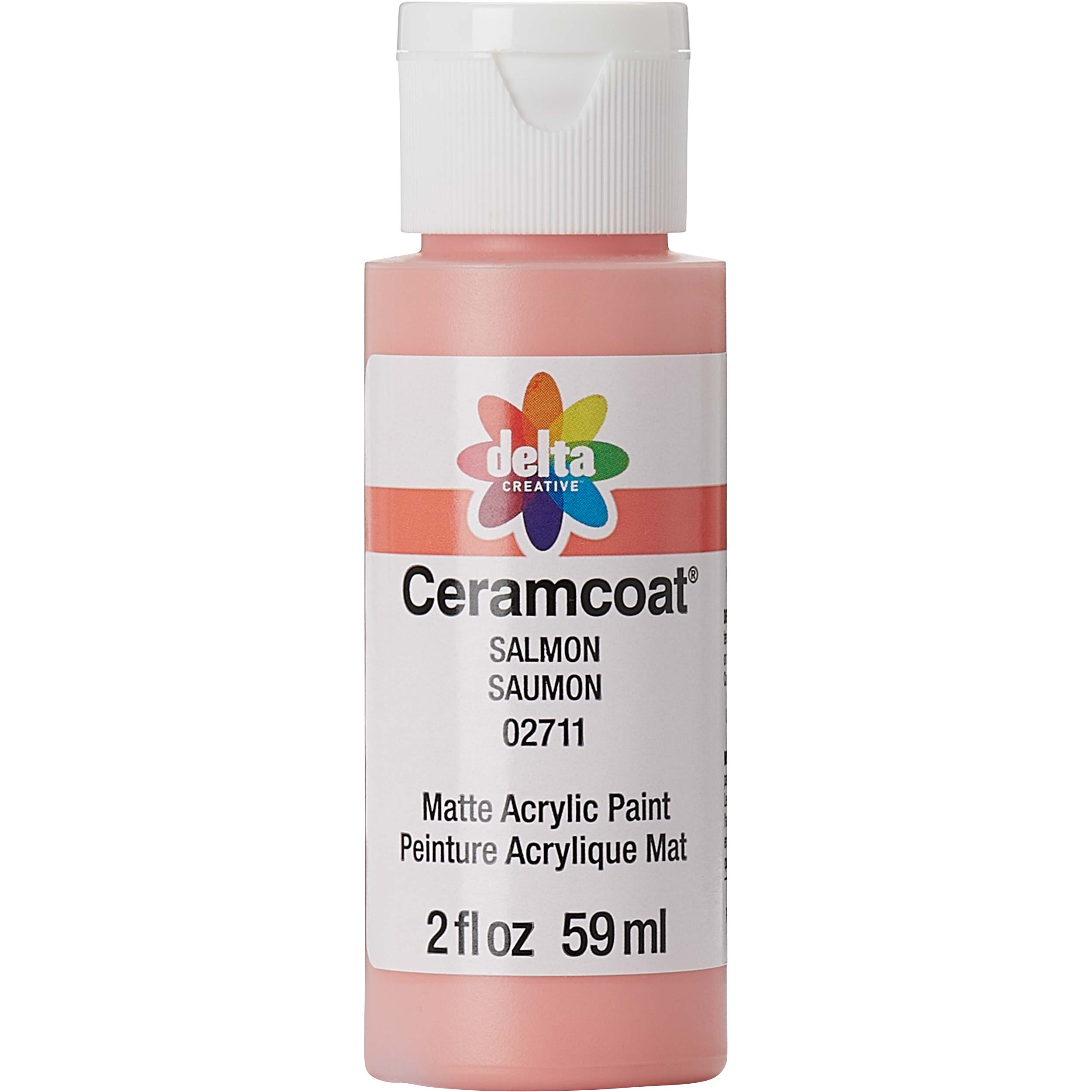 Delta Ceramcoat Acrylic Paint - Salmon, 2 oz. - 02711