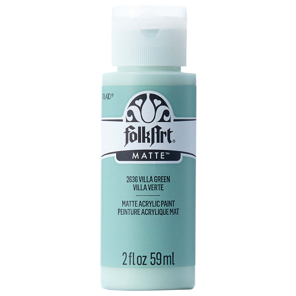 FolkArt ® Acrylic Colors - Villa Green, 2 oz. - 2636