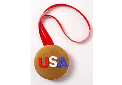 Kid's Olympic Gold Medal DIY Idea