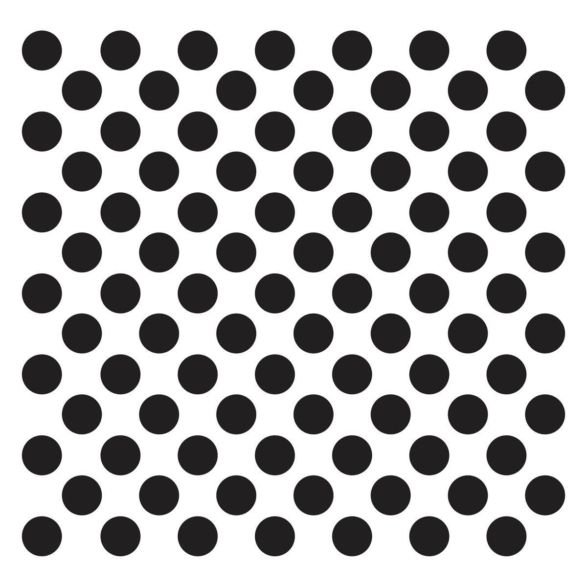Waverly ® Inspirations Laser Stencils - Décor - Big Dot, 12