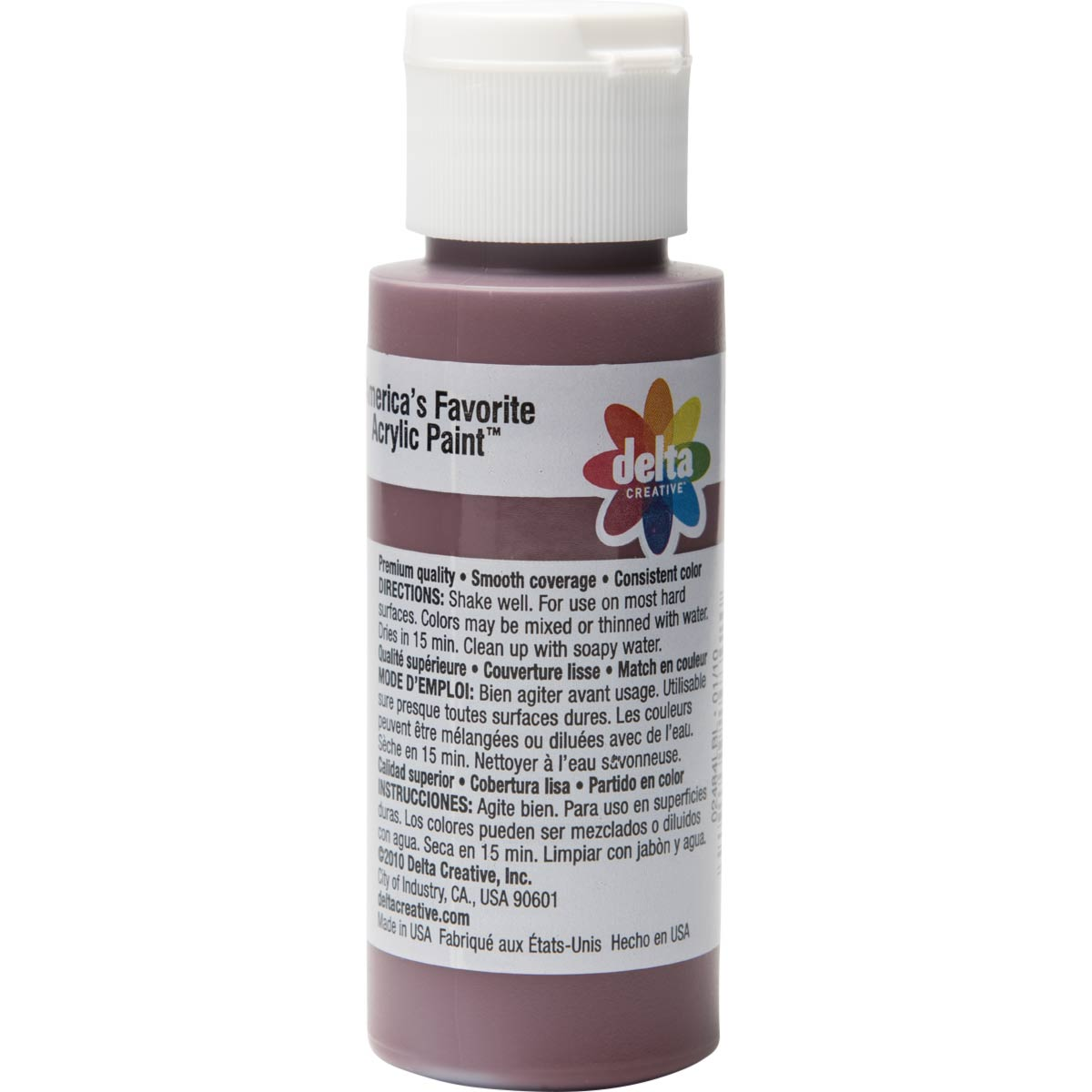 Delta Ceramcoat ® Acrylic Paint - Black Cherry, 2 oz. - 024840202W