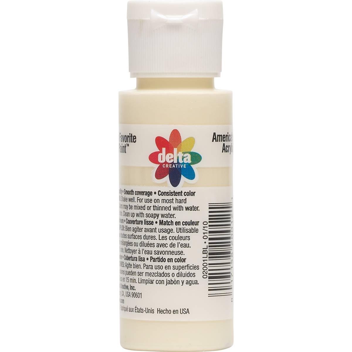 Delta Ceramcoat ® Acrylic Paint - Antique White, 2 oz.