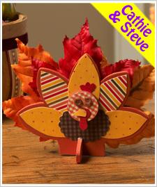 Gobble Up Kids Turkey Decoration