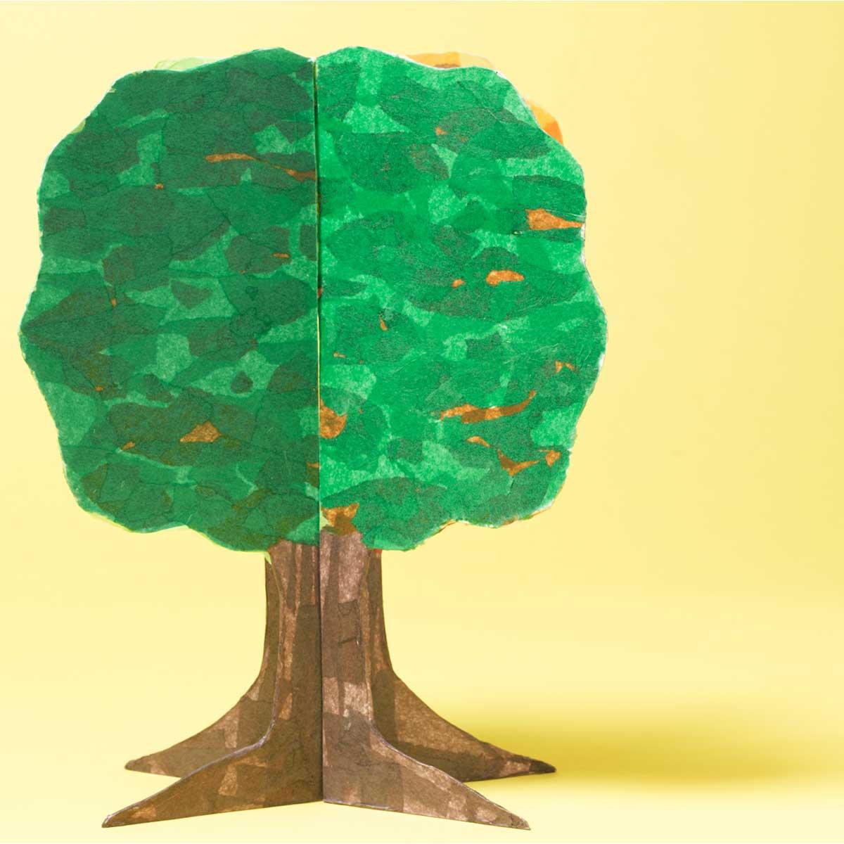 Four Seasons 3D Tree