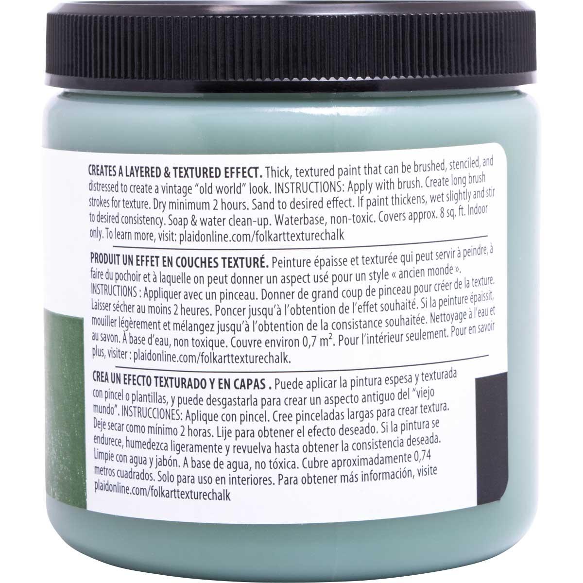 FolkArt ® Home Decor ® Texture Chalk™ - Garden Green, 8 oz.