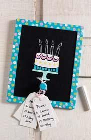 Chalkboard Birthday Sign