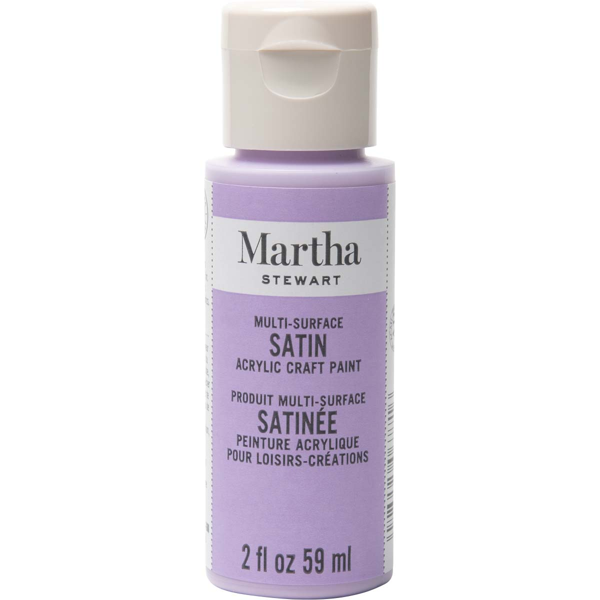 Martha Stewart ® Multi-Surface Satin Acrylic Craft Paint - Hydrangea Purple, 2 oz. - 32028CA