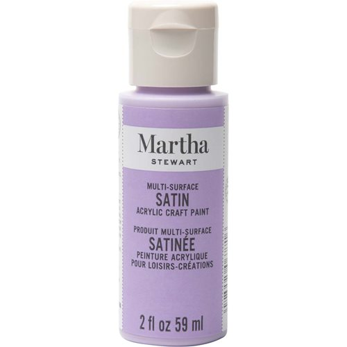 Martha Stewart® 2oz Multi-Surface Satin Acrylic Craft Paint - Hydrangea Purple