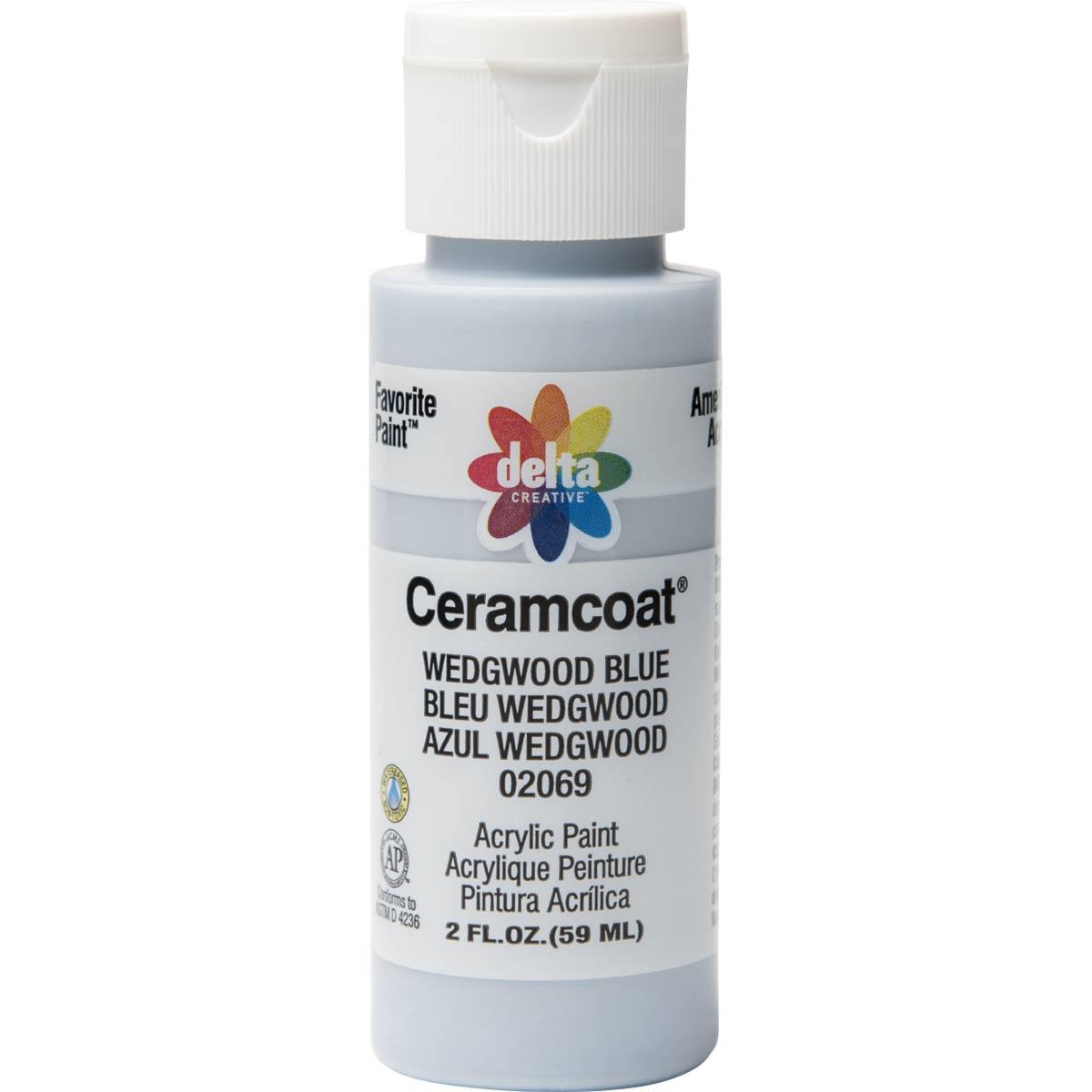 Delta Ceramcoat ® Acrylic Paint - Wedgewood Blue, 2 oz.