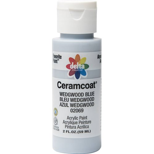Delta Ceramcoat ® Acrylic Paint - Wedgwood Blue, 2 oz. - 020690202W