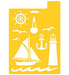 Delta Stencil Mania™ - Nautical, 7
