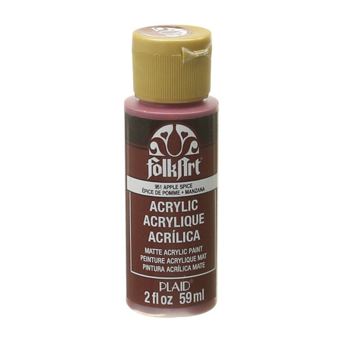 FolkArt ® Acrylic Colors - Apple Spice, 2 oz.