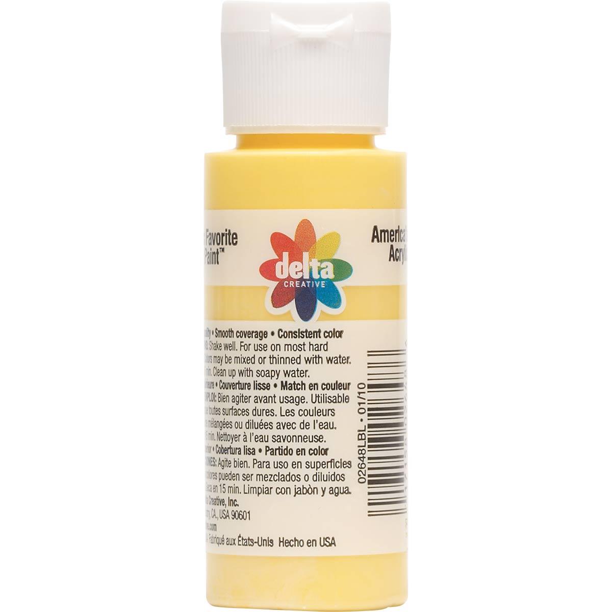 Delta Ceramcoat ® Acrylic Paint - Citrus, 2 oz.