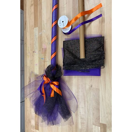 DIY Witch Costume Broom