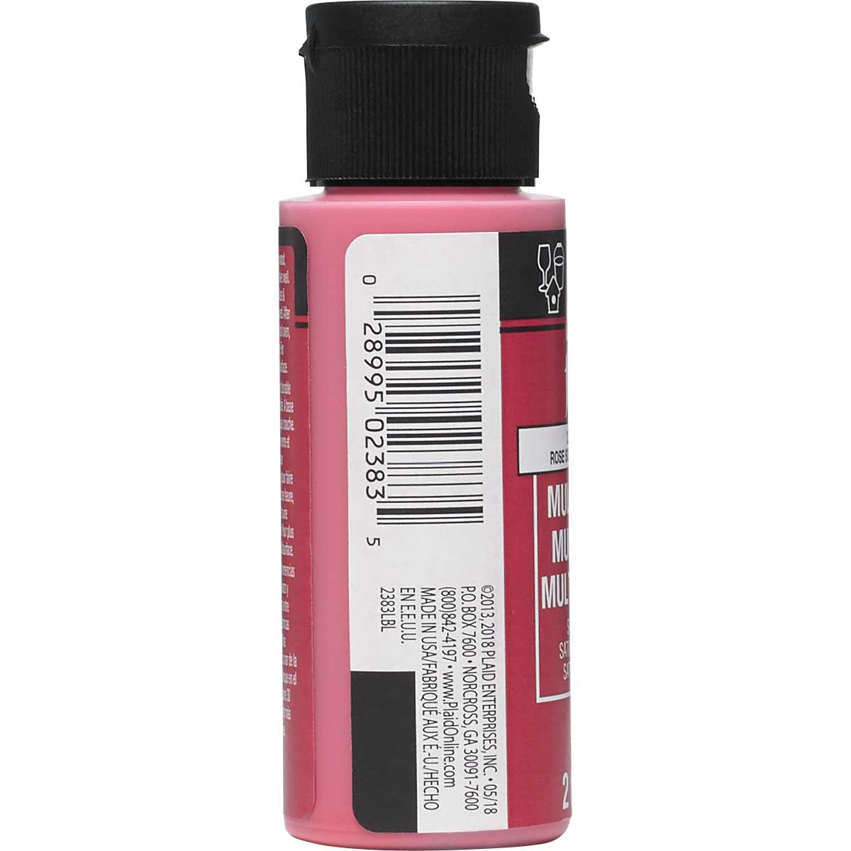FolkArt ® Multi-Surface Satin Acrylic Paints - Keepsake Rose, 2 oz.