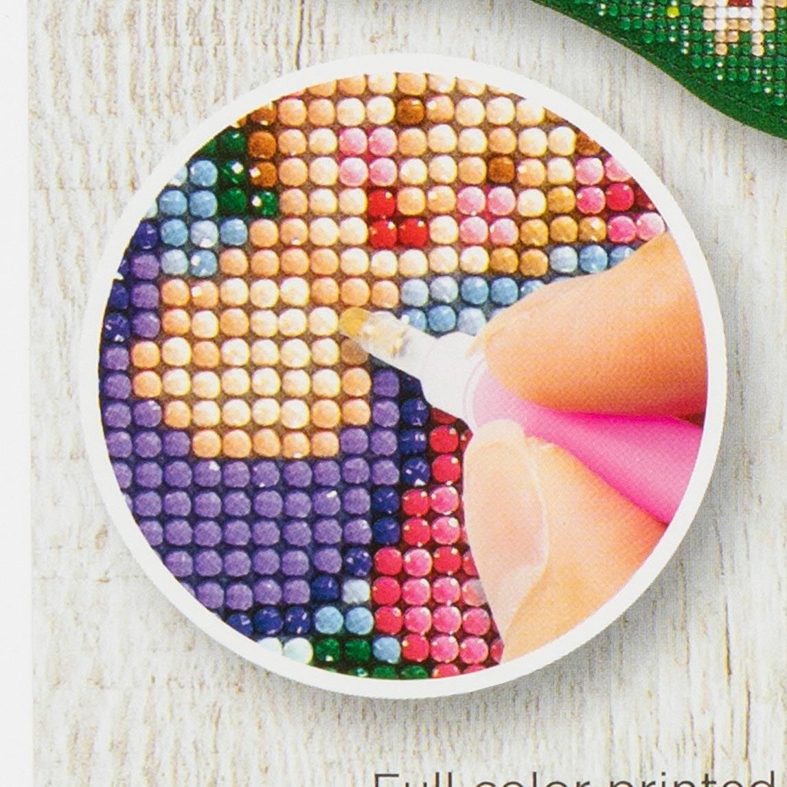 Bucilla ® Seasonal - Gem Dots - Stocking Kits - Sugar Plum Fairy - 89320E