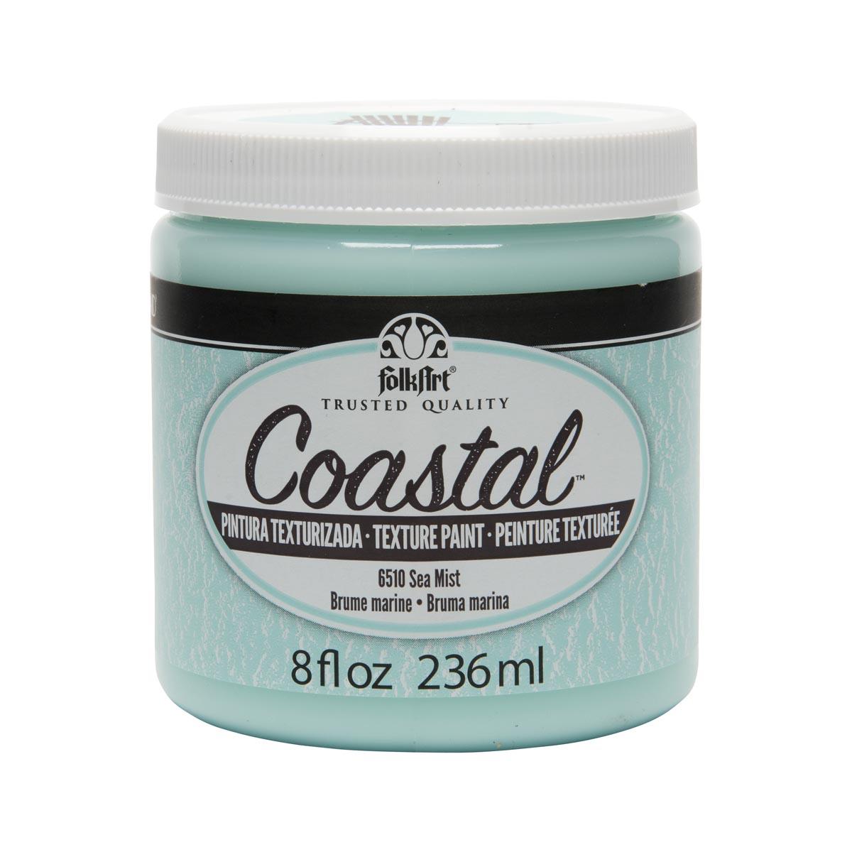 FolkArt ® Coastal™ Texture Paint - Sea Mist, 8 oz. - 6510
