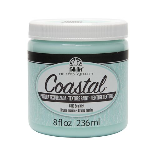 FolkArt ® Coastal™ Texture Paint - Sea Mist, 8 oz.