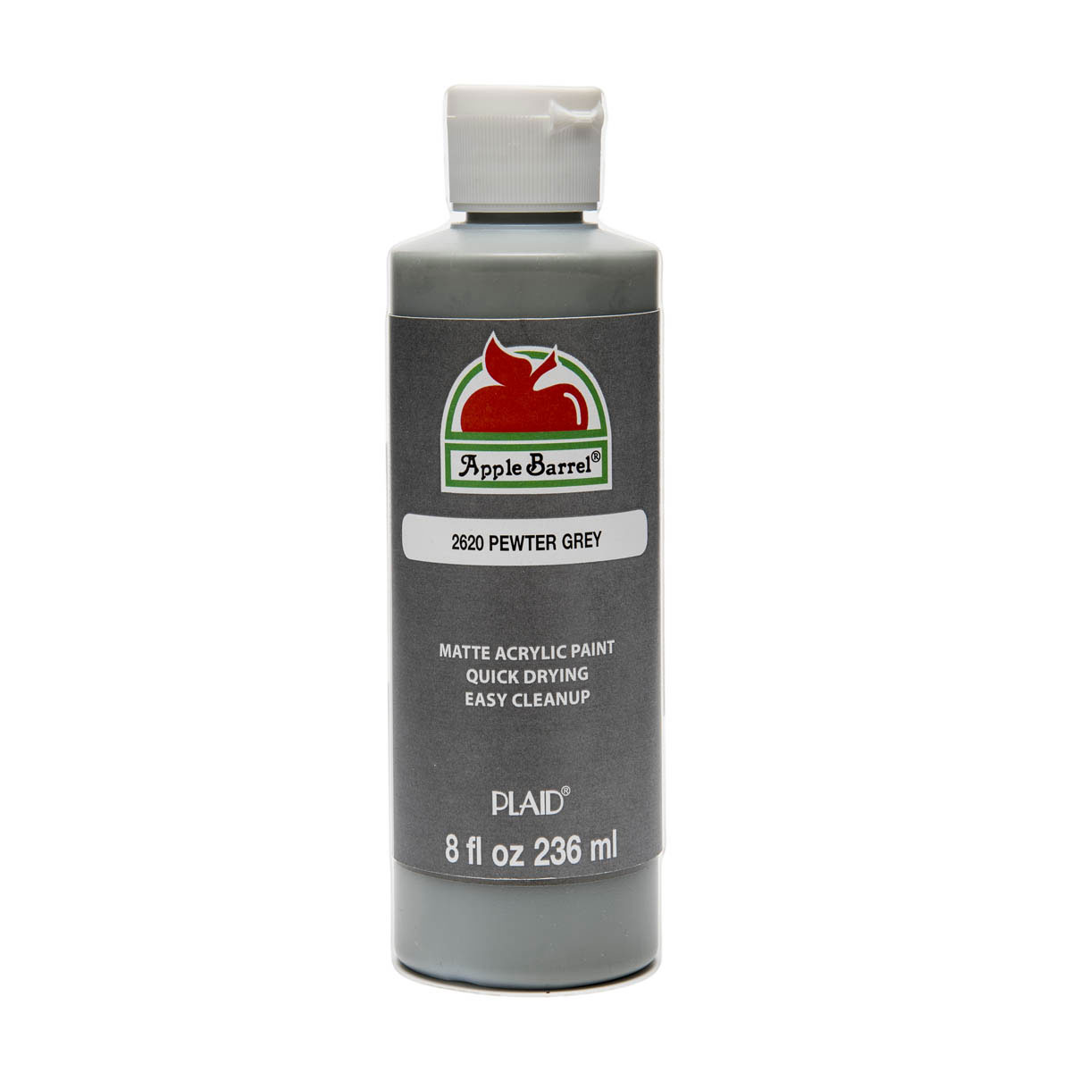 Apple Barrel ® Colors - Pewter Grey, 8 oz.