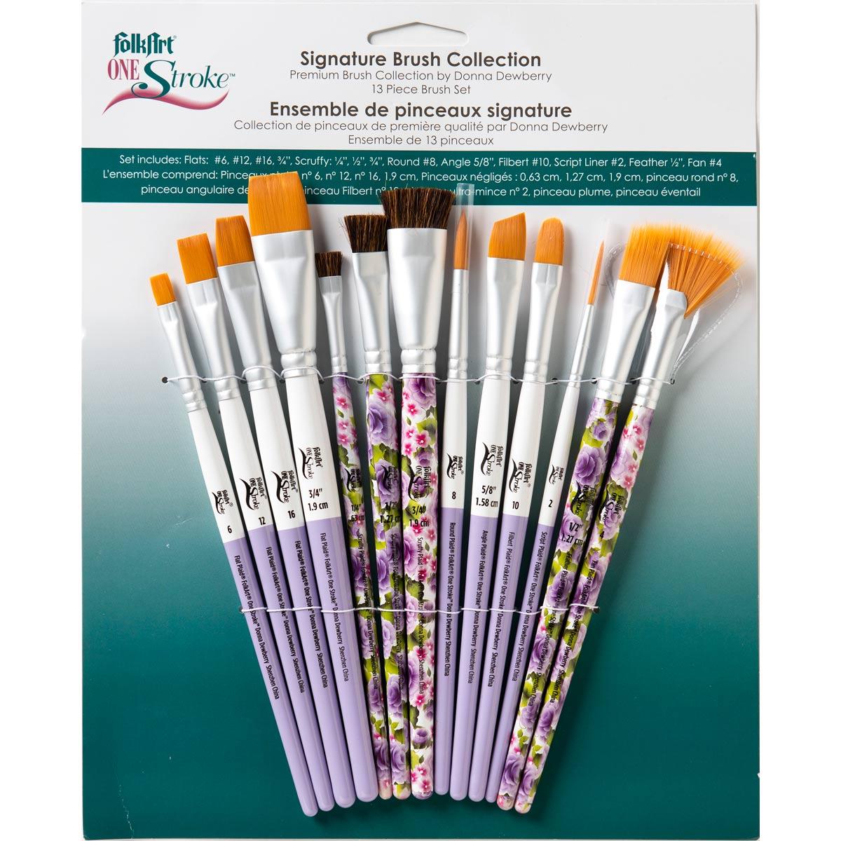 FolkArt ® One Stroke™ Brushes - Brush Sets - Signature Set