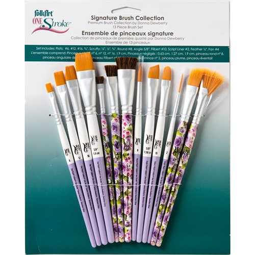 FolkArt ® One Stroke™ Brushes - Brush Sets - Signature Set