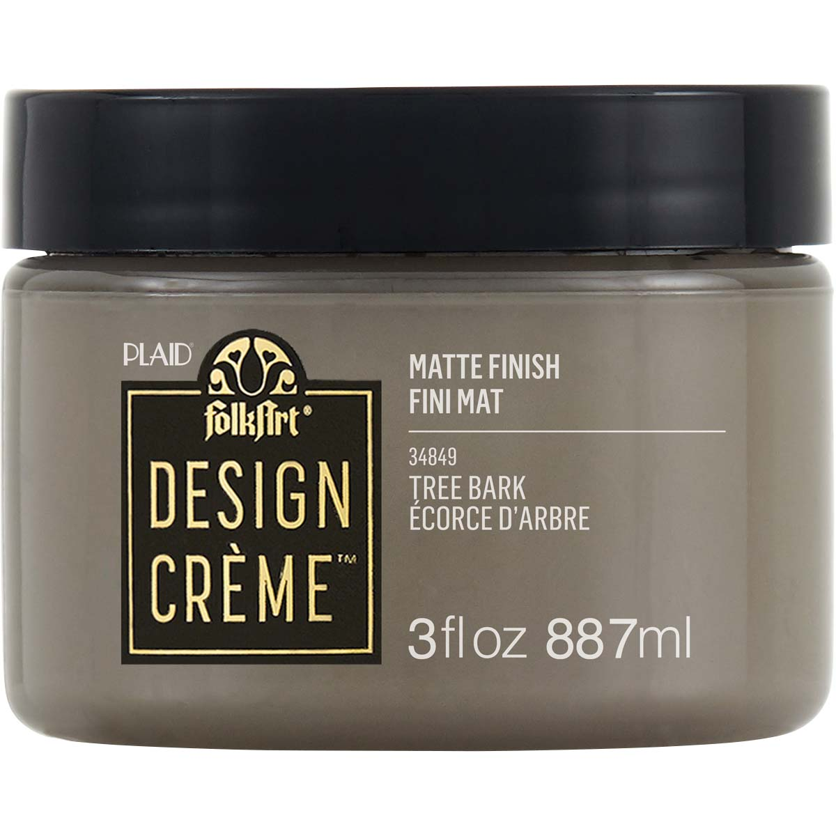 FolkArt ® Design Creme™ - Tree Bark, 3 oz. - 34849