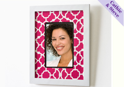 Fabric Covered Photo Mat