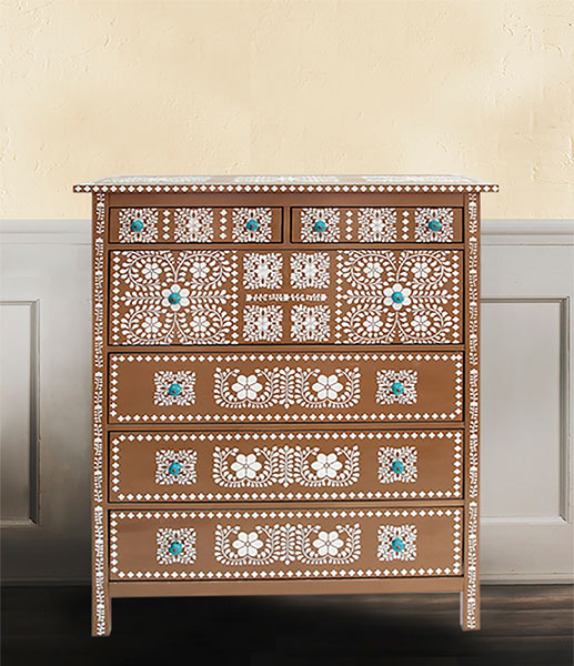 french size style curved drawers inlay of chest dresser medium dressers a bone uk