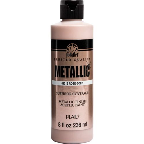 FolkArt ® Metallics - Rose Gold , 8 oz. - 6101E