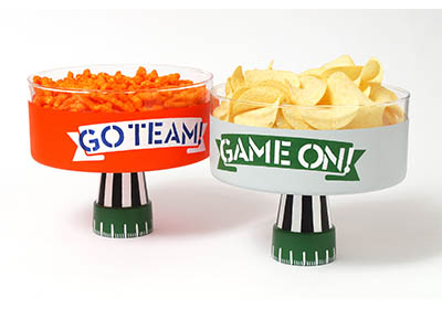 Super Football Party Bowls