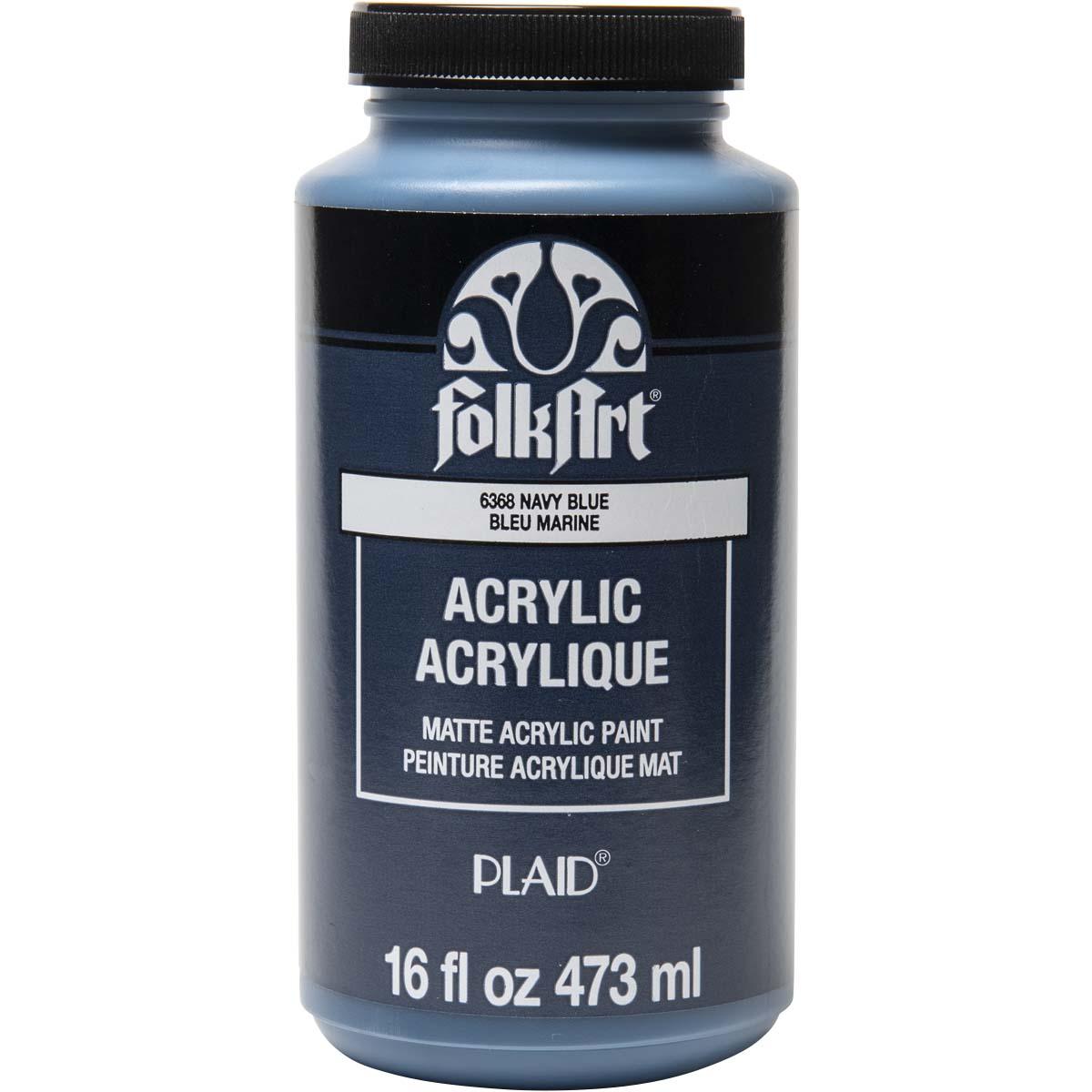 FolkArt ® Acrylic Colors - Navy Blue, 16 oz.