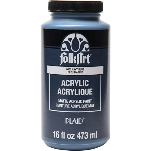 FolkArt ® Acrylic Colors - Navy Blue, 16 oz. - 6368