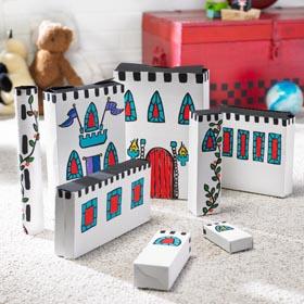 Cereal Box Crafts Idea - Cardboard Kingdom