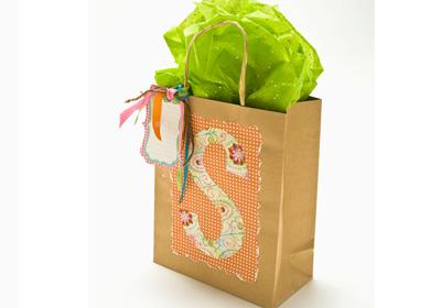 Monogrammed Gift Bag