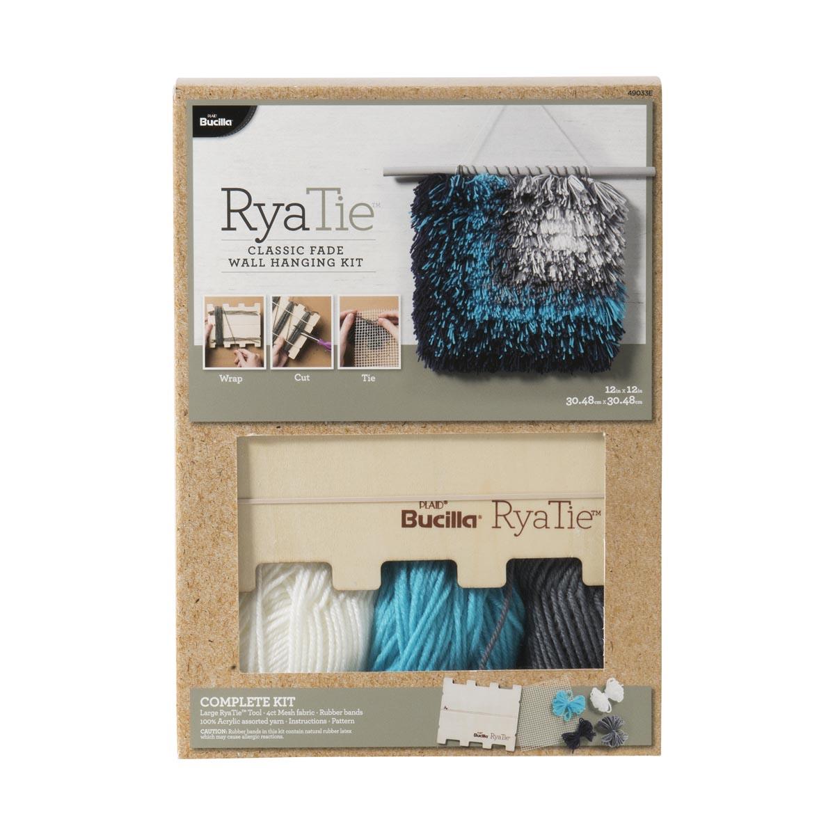 Bucilla ® RyaTie™ Classic Fade Wall Hanging Kit
