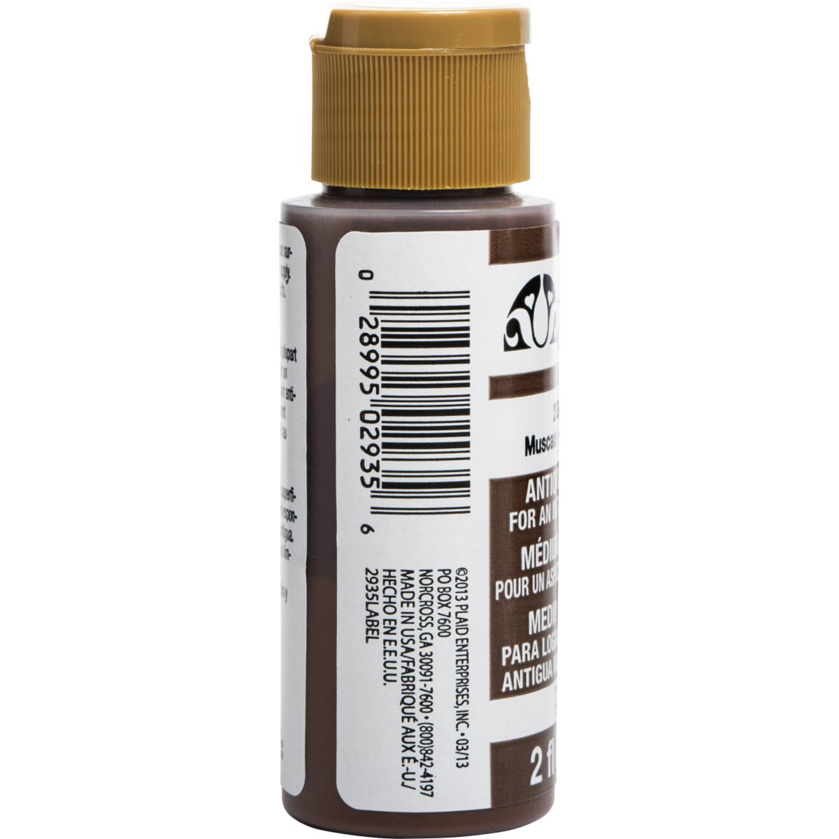 FolkArt ® Mediums - Antiquing Medium - Nutmeg, 2 oz. - 2935