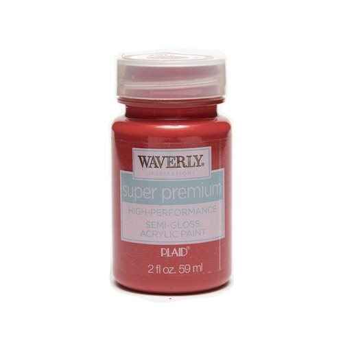 Waverly ® Inspirations Super Premium Semi-Gloss Acrylic Paint - Jasper, 2 oz.