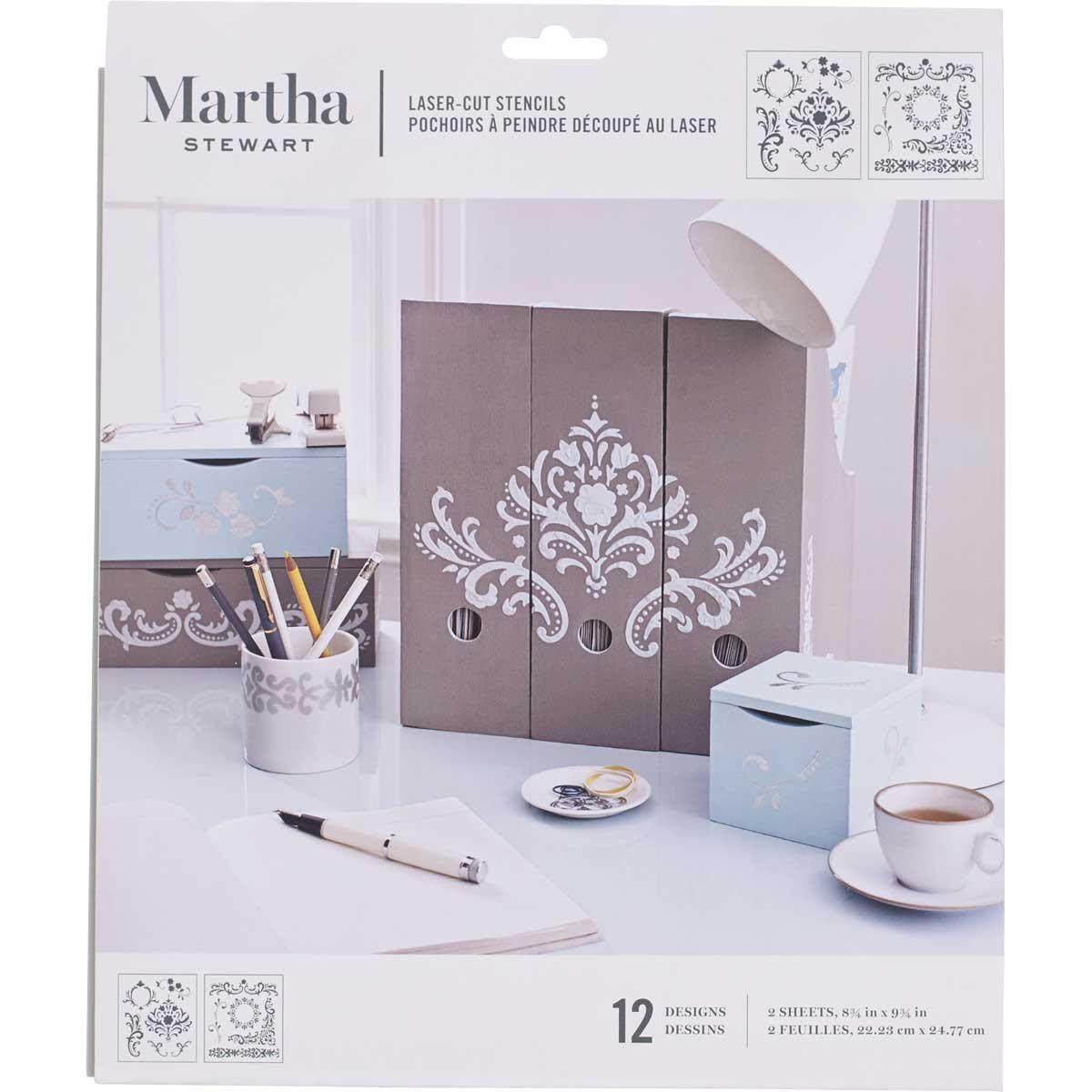 Martha Stewart ® Laser-Cut Stencil - Flourish - 32255