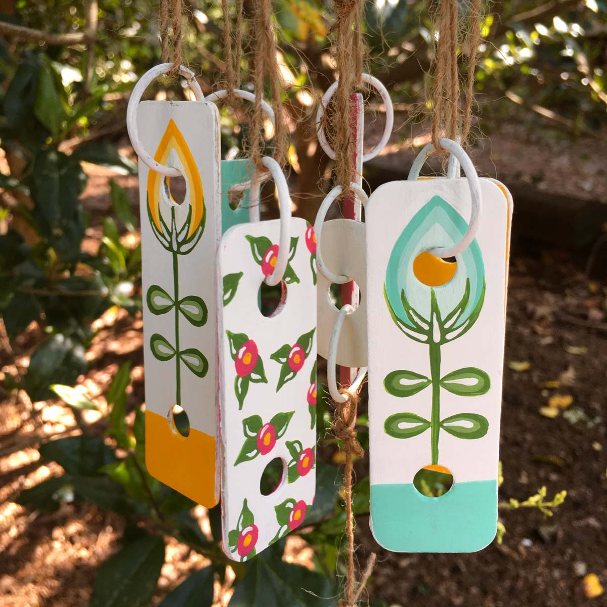 DIY Mother's Day Gift Xylophone Wind Chimes