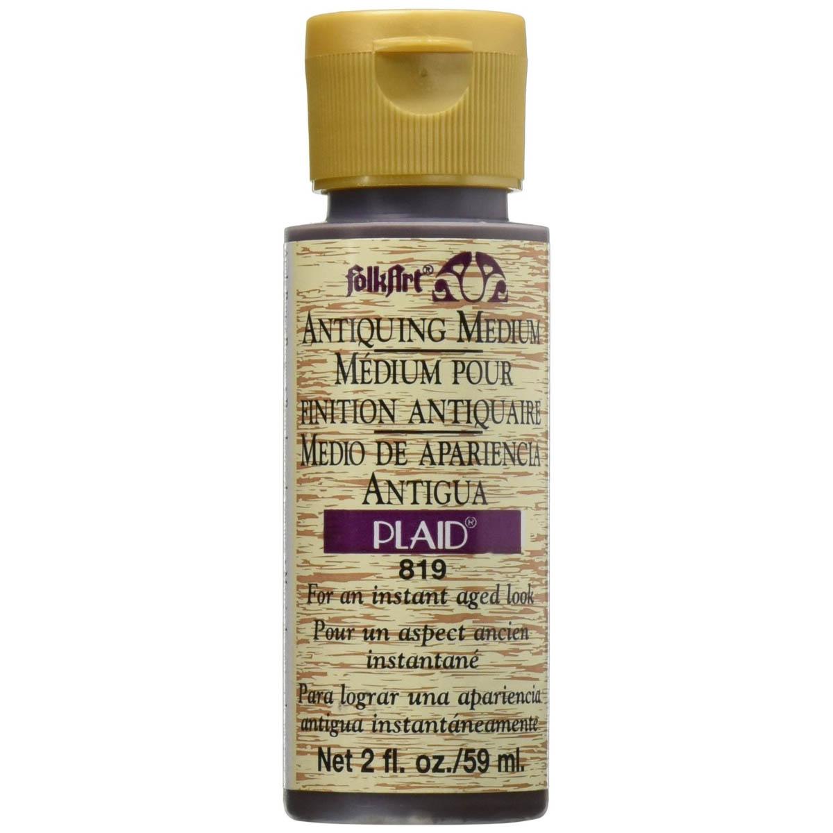 FolkArt ® Mediums - Antiquing Medium - Apple Butter Brown, 2 oz.