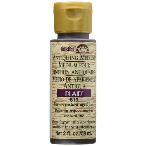FolkArt ® Mediums - Antiquing Medium - Apple Butter Brown, 2 oz. - 819