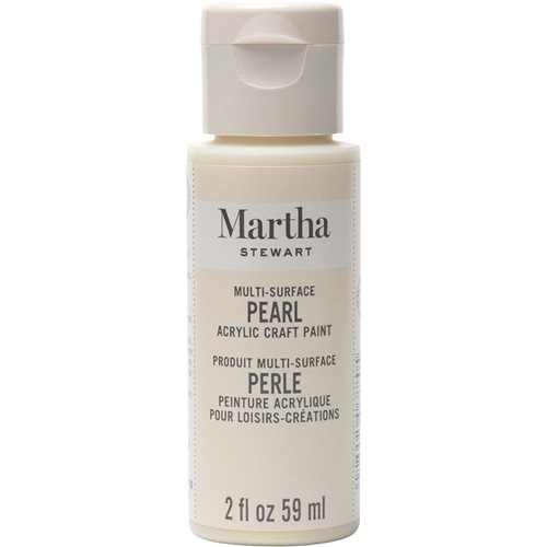 Martha Stewart ® Multi-Surface Pearl Acrylic Craft Paint - Gold Mother of Pearl, 2 oz. - 33515CA