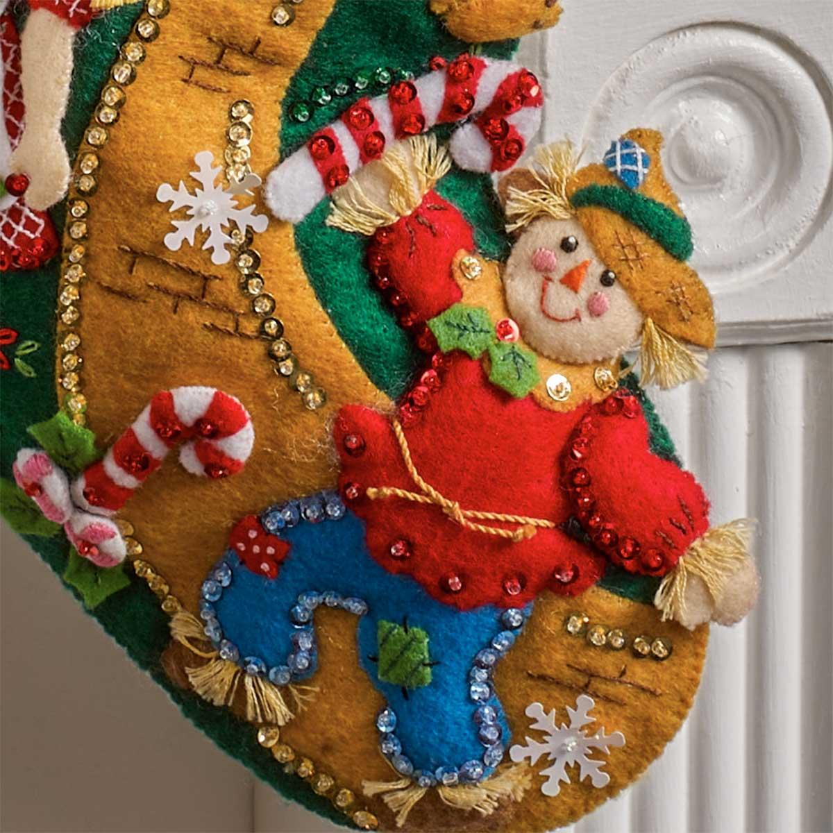 Bucilla ® Seasonal - Felt - Stocking Kits - Christmas in Oz - 89246E