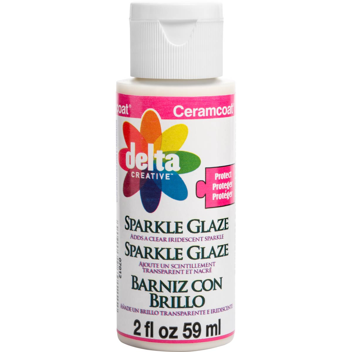 Delta Ceramcoat ® Varnishes - Sparkle Glaze, 2 oz. - 070120202W