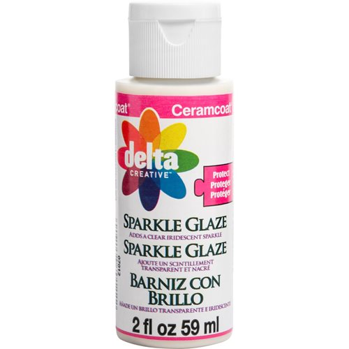 Delta Ceramcoat ® Varnishes - Sparkle Glaze, 2 oz.
