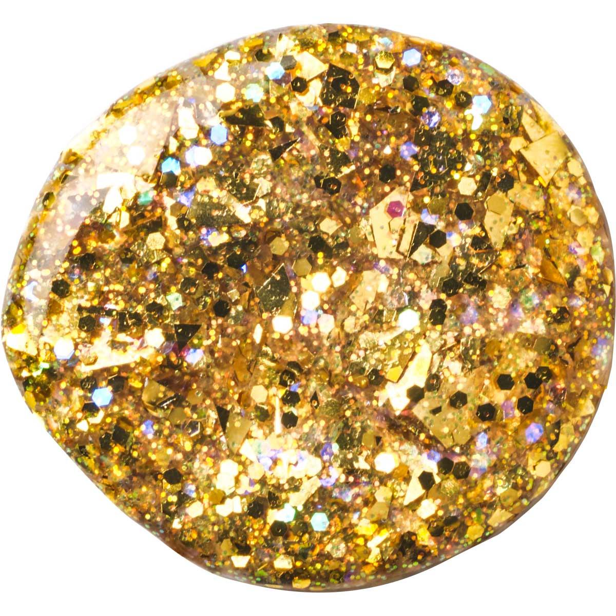 FolkArt ® Glitterific™ Acrylic Paint - Gold, 2 oz. - 5875
