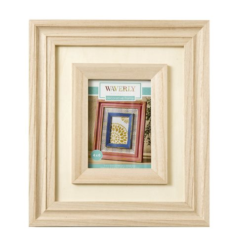 "Waverly ® Inspirations Surfaces - Layered Frame for 4"" x 6"""